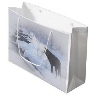 Wolves Large Gift Bag