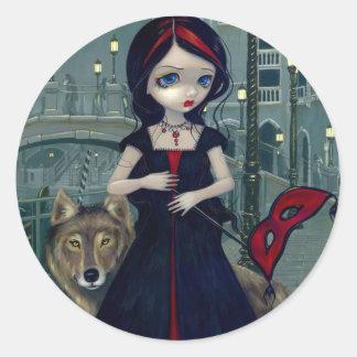 """Wolves of Venice"" Sticker"