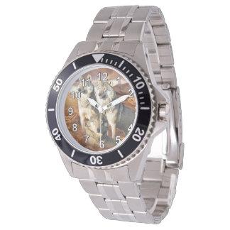 Wolves Trio Wrist Watch