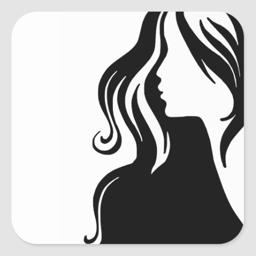 woman-311607 woman portrait girl female beautiful square stickers
