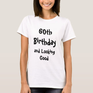 Woman 60th Birthday shirt