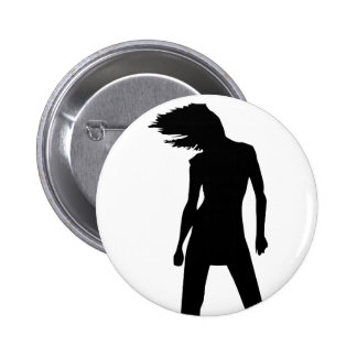 Woman 8 pinback buttons