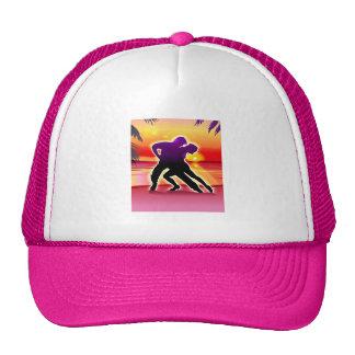 Woman and Man Dancing Trucker Hat
