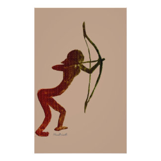 Woman Archer of Cañaica Poster