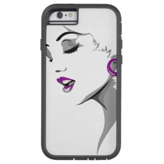 Woman Art Image Tough Xtreme iPhone 6 Case