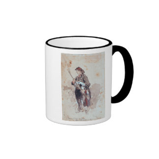 Woman at the Hotel de Ville Coffee Mug