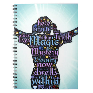 woman attri notebook