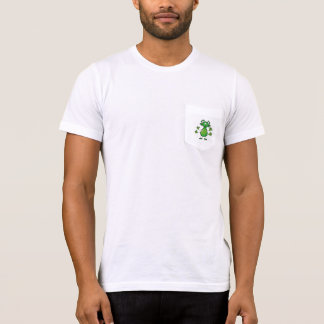 Woman basic white short sleeve with a smiley ET T-Shirt