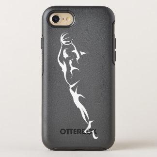 Woman Basketball Layup OtterBox Symmetry iPhone 8/7 Case