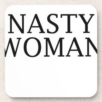 woman coaster