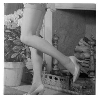 Woman Dancing Tile
