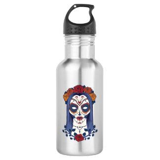 Woman Day of the Dead 532 Ml Water Bottle