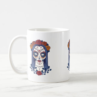 Woman Day of the Dead Coffee Mug