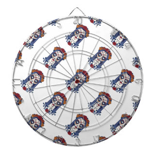 Woman Day of the Dead Dartboard