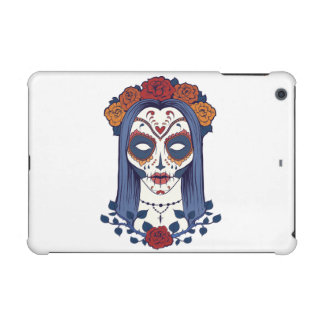 Woman Day of the Dead iPad Mini Covers