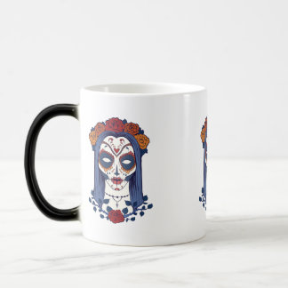Woman Day of the Dead Magic Mug