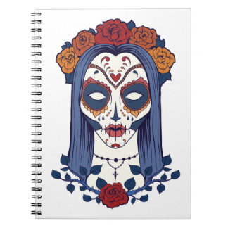 Woman Day of the Dead Notebook