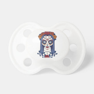 Woman Day of the Dead Pacifier
