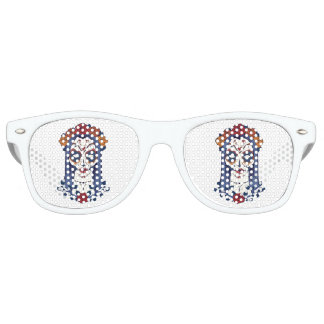 Woman Day of the Dead Retro Sunglasses