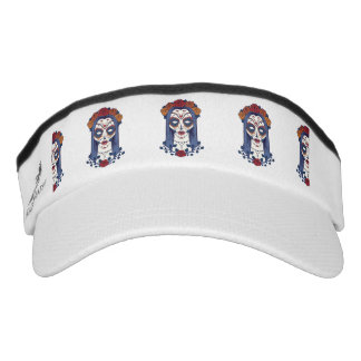 Woman Day of the Dead Visor