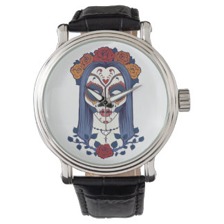 Woman Day of the Dead Watch