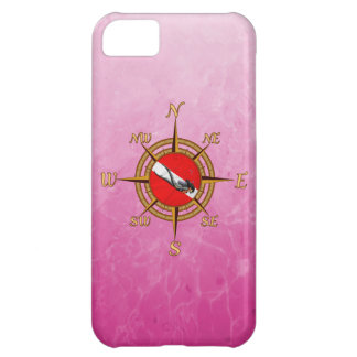 Woman Diver And Compass Case For iPhone 5C