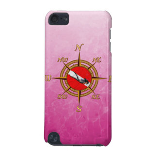 Woman Diver And Compass iPod Touch 5G Case