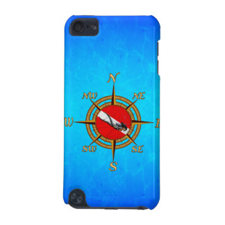 Woman Diver And Compass iPod Touch 5G Cases