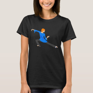Woman Doing Tai Chi or Yoga T-Shirt