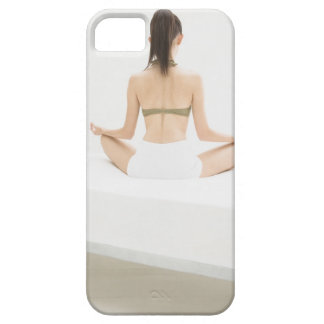 Woman doing yoga case for the iPhone 5