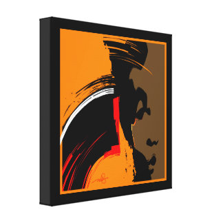 Woman Emerging Gallery Wrapped Canvas