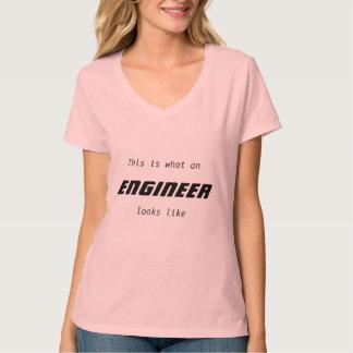 Woman engineer shirt
