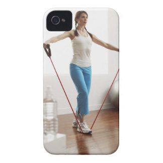 Woman Exercising iPhone 4 Case-Mate Case