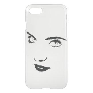 Woman face phone case