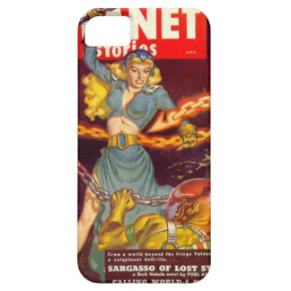 Woman Fighting Monster iPhone 5 Case