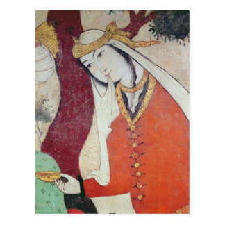 Woman from the Court of Shah Abbas I, 1585-1627 Postcard