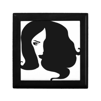 woman gift box