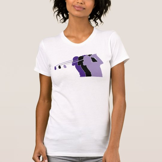 Woman Golfer T-Shirt