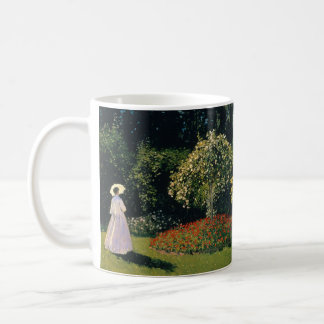 Woman in a Garden by Claude Monet Coffee Mug