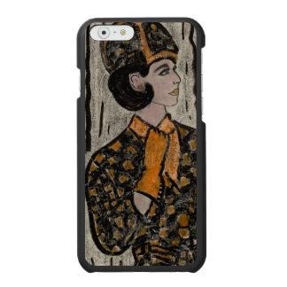 Woman in black and orange incipio watson™ iPhone 6 wallet case