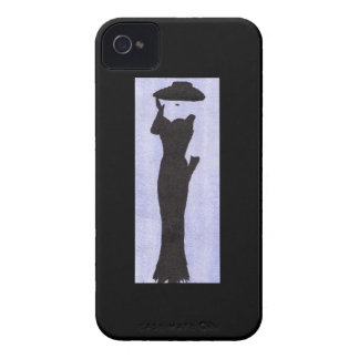 Woman In Black iPhone 4 Case
