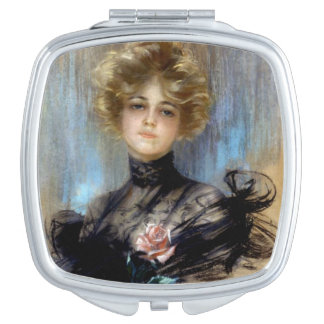Woman in Black, Makeup Mirrors