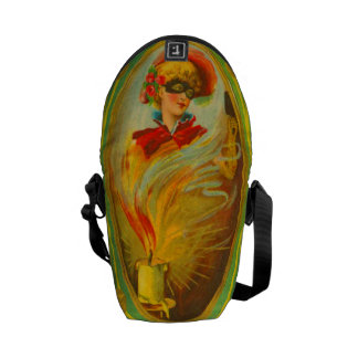 Woman In Costume Commuter Bags