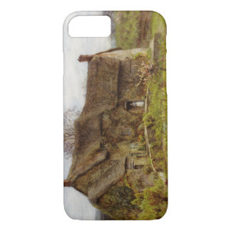 Woman in Dorset Cottage iPhone 7 Case