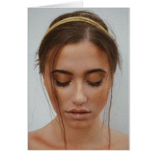 Woman in Gold yarn Card