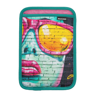 Woman in Sunglasses Street Art Graffiti Ipad Case