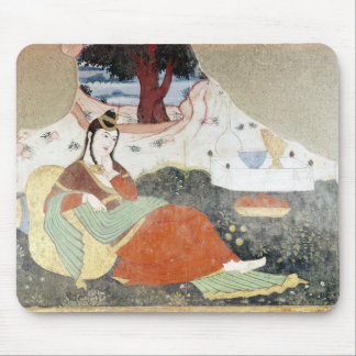 Woman in the Garden of Shah Abbas I Mouse Pad