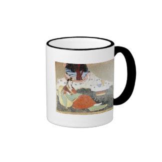 Woman in the Garden of Shah Abbas I Ringer Coffee Mug