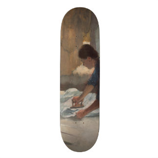 Woman Ironing by Edgar Degas Skateboard Decks
