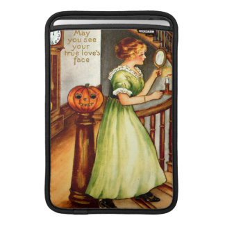 Woman & Jack O' Lantern Sleeve For MacBook Air